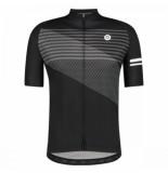 AGU Fietsshirt men striped essential black