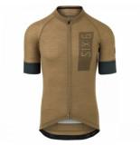 AGU Fietsshirt men solid merino ii six6 desert brown
