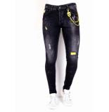 True Rise Slim fit jeans stretch  0000