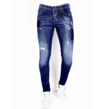 True Rise Spijkerbroek slim fit 0000