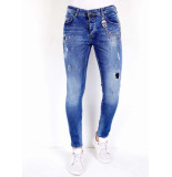 True Rise Super stretch jeans 0000