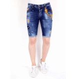 Local Fanatic Korte broek met verfspatten xxx