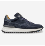 Floris van Bommel Artikelnummer 16301/22 sneaker blauw suede