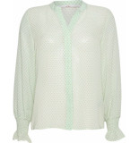 Aaiko Colby blouse green printed