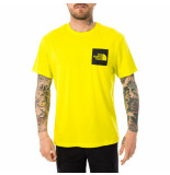 The North Face T-shirt uomo m s/s fine tee nf00ceq5je3