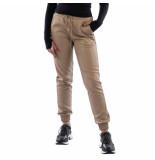 LA Sisters Faux leather jogging pants