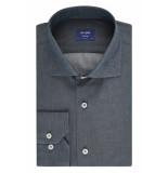Van Gils Heren overhemd edar indigo look slim fit ml7