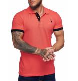 One Redox Poloshirt heren fusia -