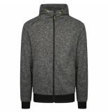 Ombre Ronan sweatvest hoodie -