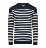 Geographical Norway Sweater heren ronde hals /white