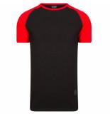 One Redox t-shirt zwart