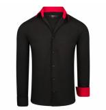 Kc Denim Santo heren overhemd zwart