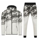 Bravo Jeans Heren joggingpak camouflage -