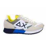 SUN68 Sneakers jaki bicolor bianco