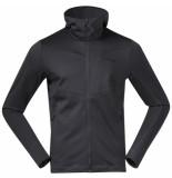Bergans Vest men skaland hood jacket solid dark grey