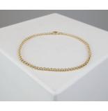 Christian Gouden jasseron armband