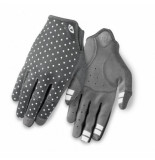 Giro Fietshandschoen giro women la dnd dark shadow white dots