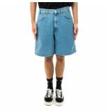 Amish Bermuda uomo bernie bleached denim p21amu004d4331767