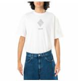 Amish T-shirt uomo jersey sw p21amu200ca16xxx1.wht