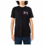 Shoe T-shirt uomo organic cotton short sleeve t-shirt tommy5105.blk
