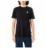 Shoe T-shirt uomo organic cotton short sleeve t-shirt ted5024.blk