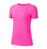 Nike pro women's short-sleeve mesh -