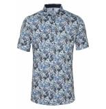 Desoto Overhemd korte mouw met bloemen