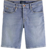 Scotch & Soda Ralston short recycled cotton p pop of smoke