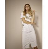 Mos Mosh 138750 101 selma white skirt white