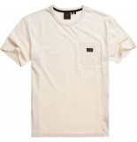 Superdry Workwear pocket tee rice white