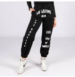 LA Sisters 90201 sweatpants