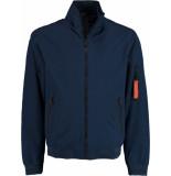 Bos Bright Blue Sven short jacket 21101sv03sb/290 navy