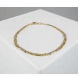 Christian Gouden valkenoog armband