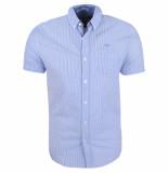 MZ72 heren korte mouw overhemd chic -