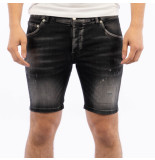 My Brand Denim black distressed short