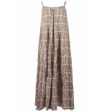 Genesis Dali long jurk groen