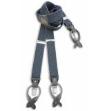 Sir Redman Bretels met strik blauw