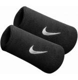 Nike nike swoosh doublewide wristbands 2pk -