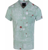 Gabbiano T-shirt v neck meadow green