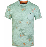 Gabbiano T-shirt round neck meadow green