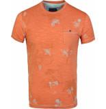 Gabbiano T-shirt round neck papaya