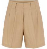 Y.A.S Tanna hw shorts khaki