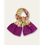 Oilily Aorient sjaal paars groen-