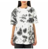 Amish T-shirt donna jersey tie dye grigio p21amu200ca16xxx2.gry