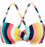 Beachlife top- bikini foam +wired -