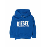 Diesel Boys hoodie blauw