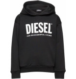 Diesel Hoodie zwart