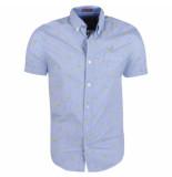 MZ72 heren korte mouw overhemd chapple -