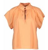 Due Amanti Alice blouse oranje