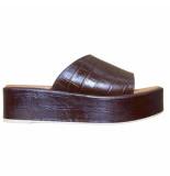 Dwrs Aruba slipper bruin